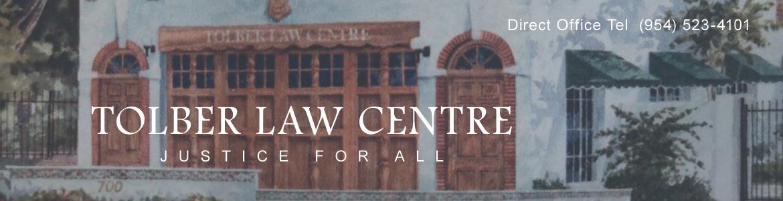 Tolber Law Centre - (954) 523-4101